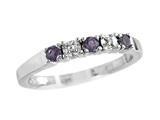 2.5mm Amethyst Band / Ring style: R8016A
