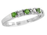 2.5mm Peridot Band / Ring