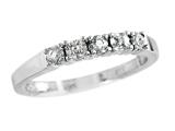 2.5mm White Topaz Band / Ring