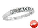 2.5mm White Topaz Band / Ring style: R8016WT