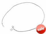Storywheel® 18 inch Snake Necklace with Lobster Claw Clasp Bead / Charm style: SWN1718