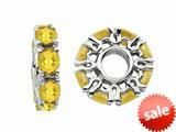 Storywheel® Citrine Birthstone Bead / Charm style: W350C