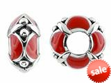 Storywheel® Red Enamel Bead / Charm style: W436RED