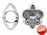Storywheel®  Fleur De Lis Bead/ Charm style: W454