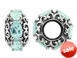 Storywheel® Aquamarine Bead / Charm style: W482AQ