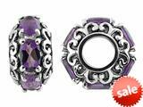 Storywheel® Amethyst Bead / Charm style: W482A