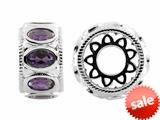 Storywheel® Amethyst Bead / Charm style: W546A