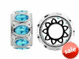 Storywheel® Swiss Blue Topaz Bead / Charm