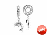 Storywheel® Dolphin Dangle Bead / Charm style: W639
