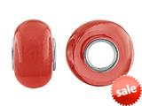 Storywheel® Red Glass Bead / Charm style: W647RED