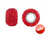 Storywheel® Red Crystal Bead / Charm style: W657RED