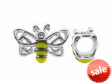 Storywheel® Bumble Bee Yellow And Black Enamel Bead / Charm