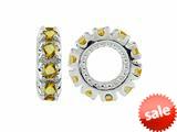 Storywheel® Citrine Birthstone Bead / Charm style: W9C