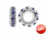 Storywheel® Sapphire Birthstone Bead / Charm style: W9S