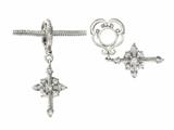 Storywheel® Cross Dangle Bead / Charm