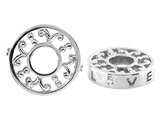 Storywheel Pierced Love Diamond Bead / Charm