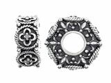 Storywheel Flower Pattern Diamonds Bead / Charm