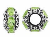 Storywheel® Peridot Pandora Compatible Bead / Charm style: W482P