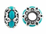 Storywheel® Turquoise Pandora Compatible Bead / Charm style: W483TQ