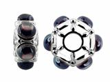 Storywheel® Black Mother of Pearl Bead / Charm
