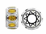 Storywheel® Citrine Bead / Charm style: W546C