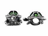 Storywheel® 3D Turtle Chrome Diopside Bead / Charm