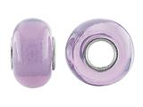 Storywheel® Light Purple Glass Bead / Charm
