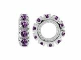 Storywheel Amethyst Birthstone Bead / Charm