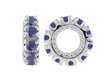Storywheel Sapphire Birthstone Bead / Charm
