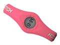 Enerwatch by Pixelmoda Power Silicone Watch Red With White Letters Medium Size