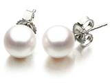 Akoya Cultured Pearl Earrings AA 7-7.5 mm with 14kt Gold Post style: 42027