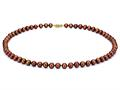 18 inch Chocolate Fresh Water Cultured Pearl (dyed) Necklace 7-7.5mm each
