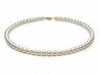 18 inch White Fresh Water Cultured Pearl Necklace 9-9.5 mm each Style number: FW050072