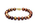Multicolor Chocolate Fresh Water Cultured Pearl (dyed) Bracelet 7-7.5mm each style: FW050391