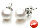 Akoya Cultured Pearl Earrings AA 6-6.5 mm with 14kt Gold Post style: 42000