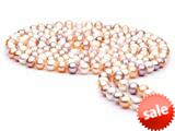 60 inch Multicolor Fresh Water Pearl Rope 7-8 mm each