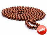 60 inch Chocolate Fresh Water Pearl Rope 7-8 mm each