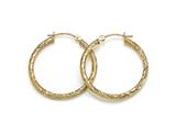 1 Inch Hoop Earrings style: 630015