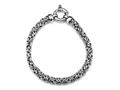 Sterling Sillver 7.5 inches Byzantina Bracelet
