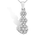 Flower Diamond Pendant style: 370018