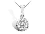 Flower Diamond Pendant style: 370021