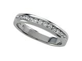 Round Diamonds Band 0.25 cttw - IGI Certified