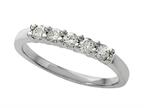 Round Diamonds Band 0.25 cttw - IGI Certified Style number: 370033