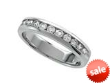 Round Diamonds Band - IGI Certified style: 370009