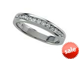 Round Diamonds Band 0.25 cttw - IGI Certified style: 370047