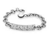 Inori Stainless Steel Cutting Bracelet style: INBR02