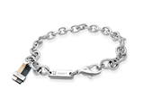 Inori Stainless Steel Holistic Charm Bracelet (Body, Mind, Spirit)