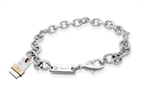 Inori Stainless Steel Holistic Bracelet (You and Me)