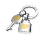 Inori Stainless Steel Lock and Key Pendant