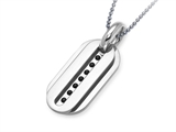 Inori Stainless Steel Dog Tag Pendant